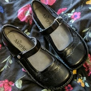 Alegria leather Belle Mary Janes size 40